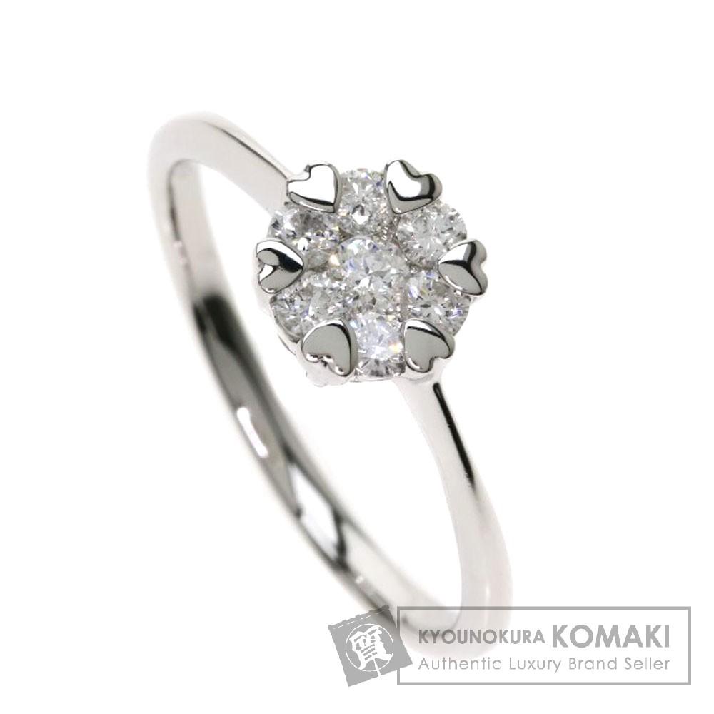 0.3ct ダイヤモンド リング・指輪 プラチナPT900 2.9g レディース 【中古】