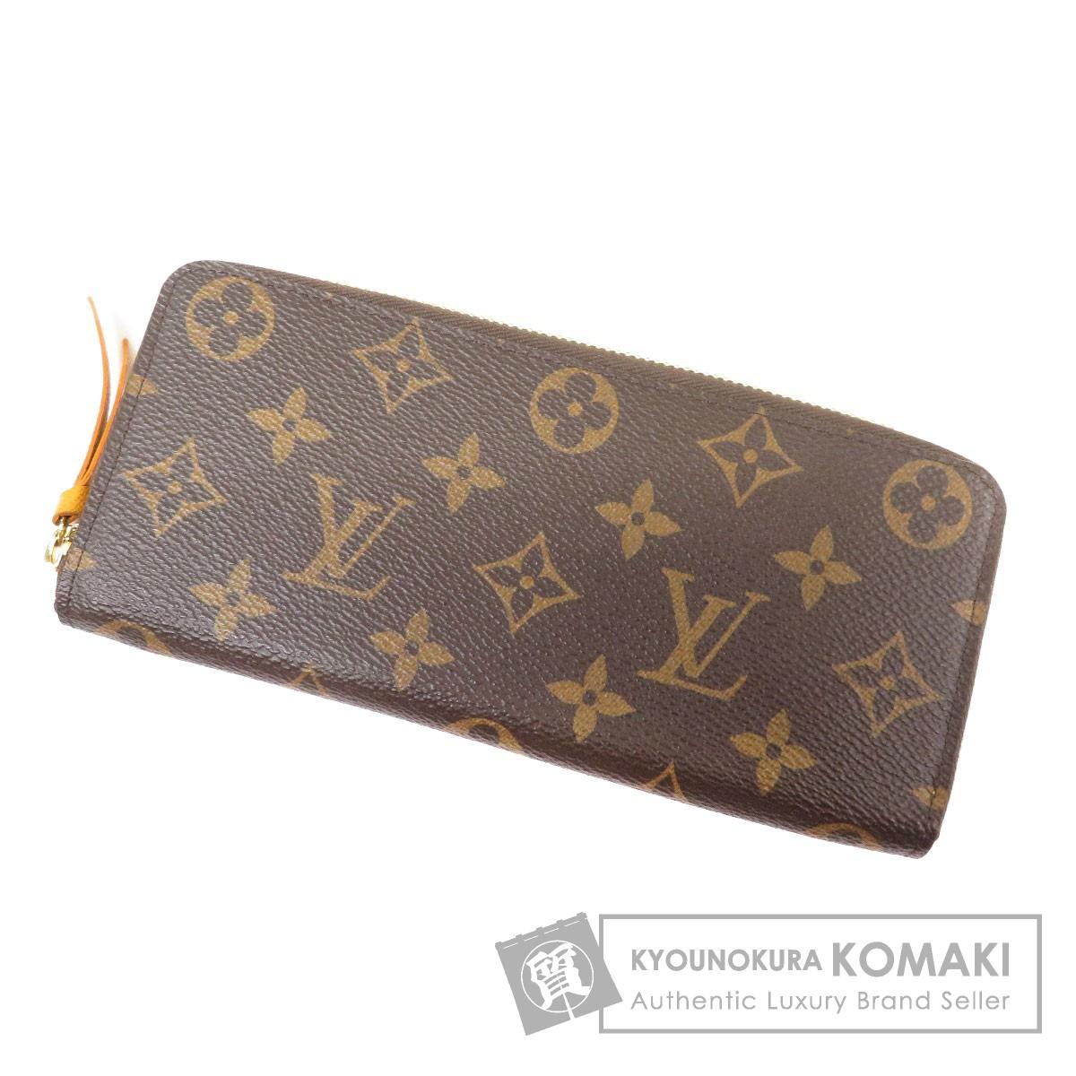 LOUIS VUITTON M60744 クレマンス 長財布(小銭入れあり) モノグラムキャンバス レディース 【中古】【ルイ・ヴィトン】