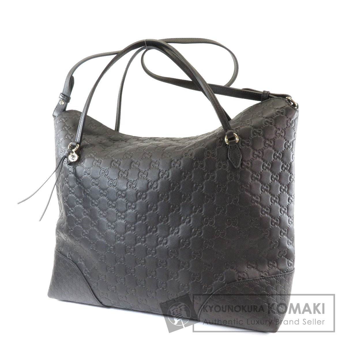 cheap for discount 00312 9d5a2 驚きの価格 GUCCI 386755 520981 GG シマ トートバッグ レザー ...