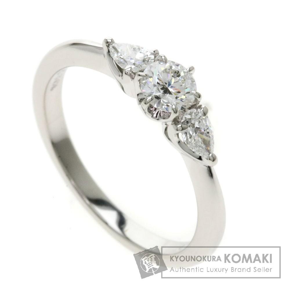 MIKIMOTO ダイヤモンド リング・指輪 プラチナPT950 レディース 【中古】【ミキモト】