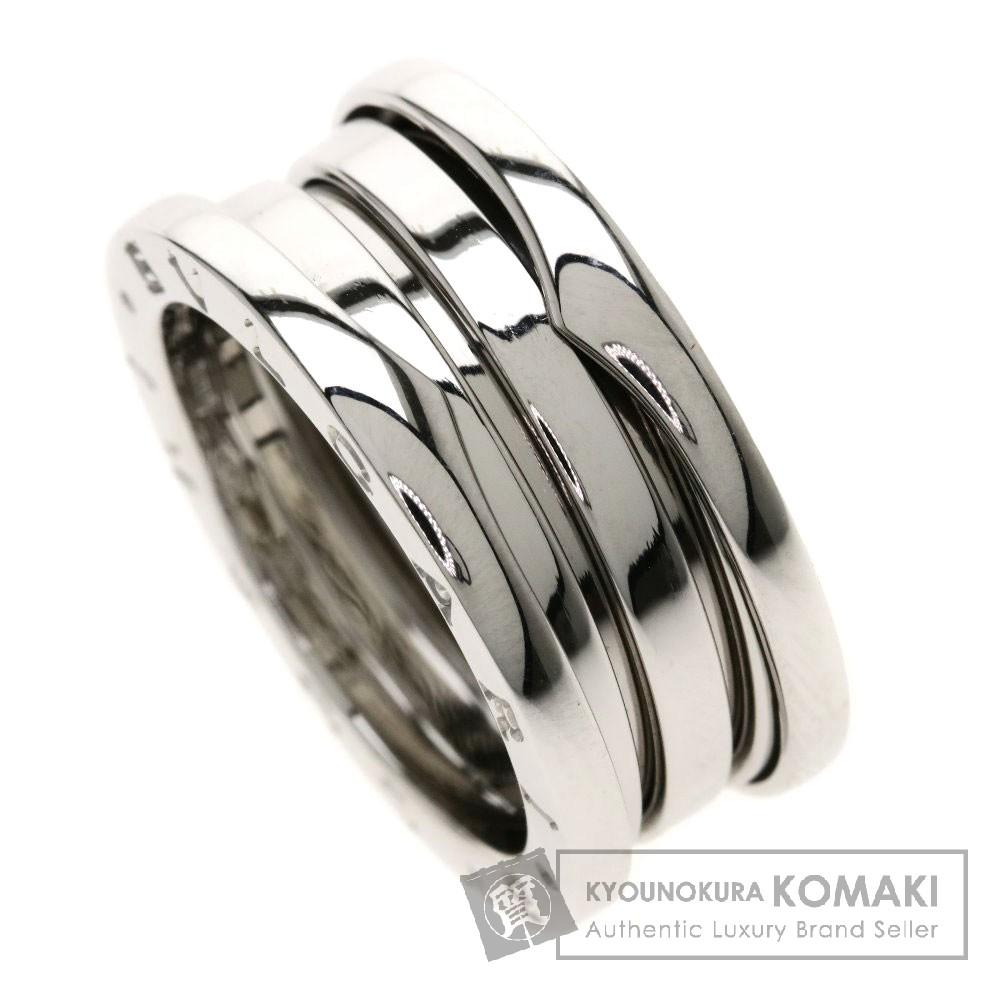 BVLGARI B-zero1リングSサイズ #52 リング・指輪 K18ホワイトゴールド レディース 【中古】【ブルガリ】