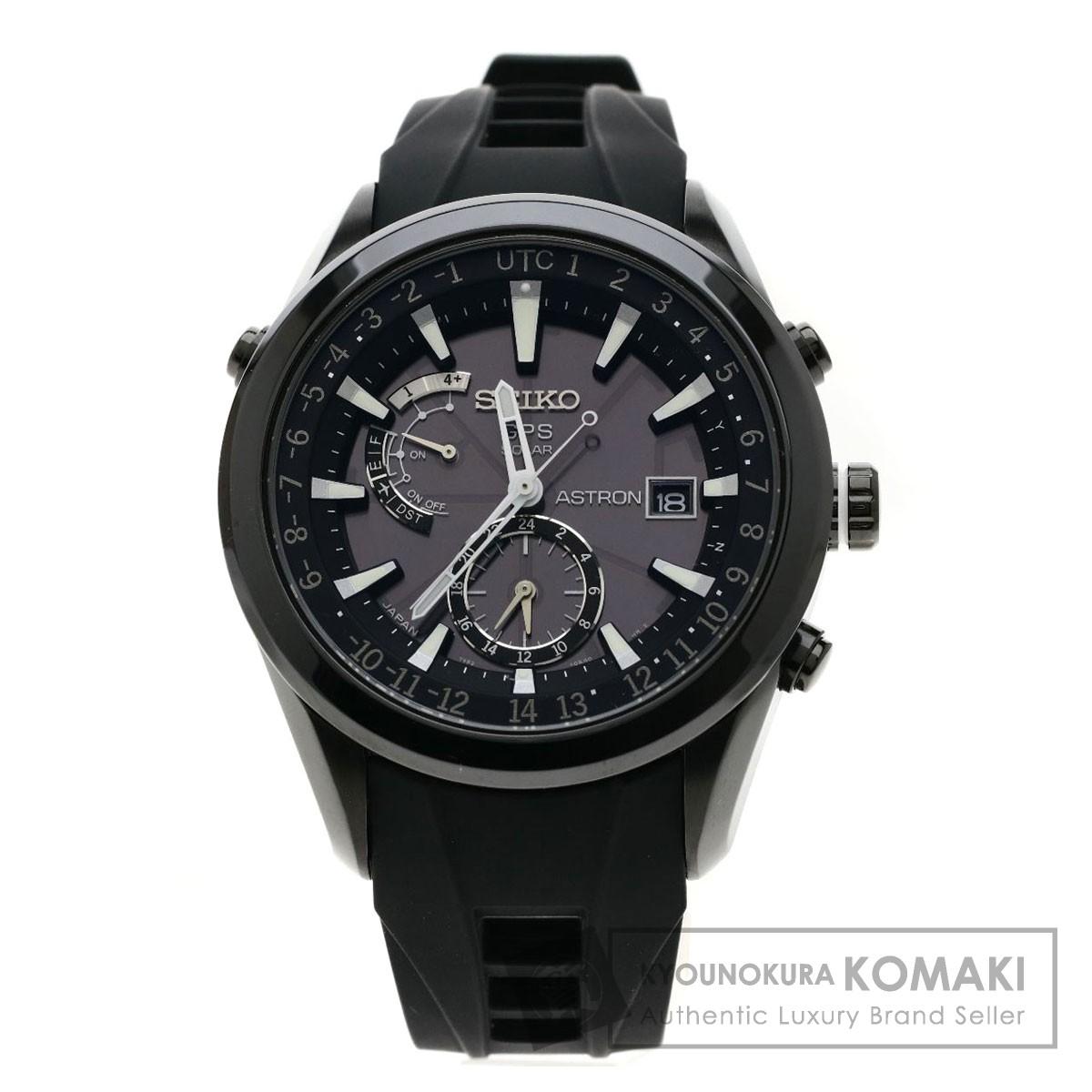 SEIKO SBXA011 アストロン GPS 腕時計 OH済 ステンレススチール/ラバー メンズ 【中古】【セイコー】