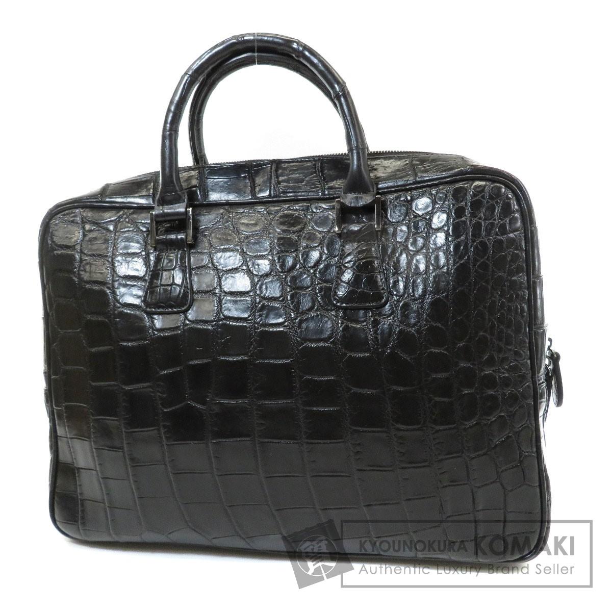 3ed25fdc6f42 SELECT BAG エキゾチックレザー ビジネスバッグ クロコダイル メンズ 【】【セレクトバッグ】 SELECT BAG セレクトバッグ  エキゾチックレザー ビジネスバッグ