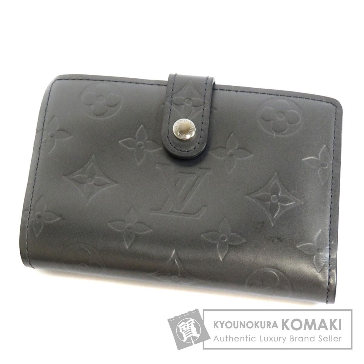 LOUIS VUITTON M65152 ポルトモネビエ ヴィエノワ 二つ折り財布(小銭入れあり) モノグラムマット レディース 【中古】【ルイ・ヴィトン】