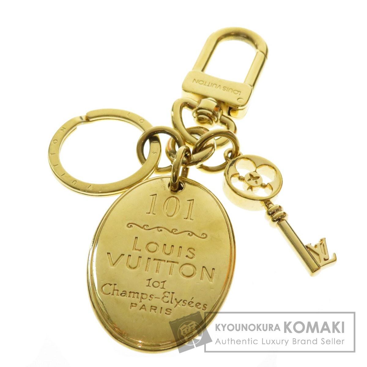 LOUIS VUITTON ロゴモチーフ キーホルダー 金属製 ユニセックス 【中古】【ルイ・ヴィトン】