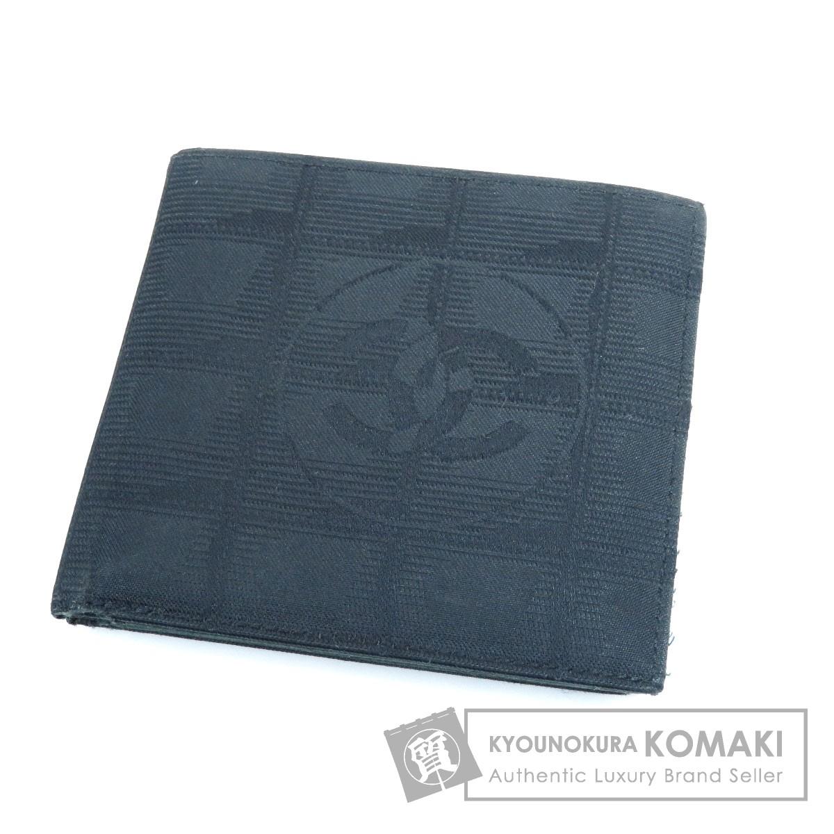 a98f823131b0 CHANEL ニュートラベルライン 二つ折り財布(小銭入れあり) ナイロン素材 レディース 【