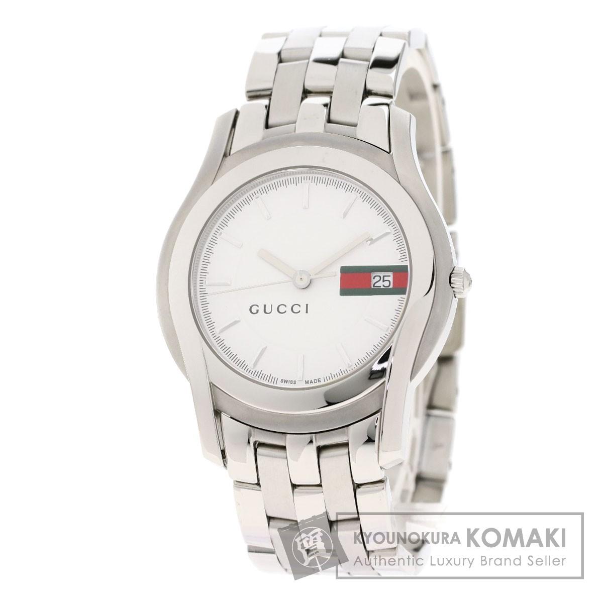 GUCCI 5500M シェリーライン 腕時計 ステンレススチール/SS メンズ 【中古】【グッチ】