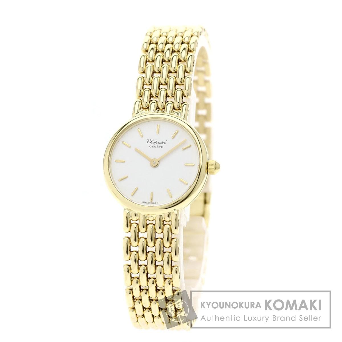 quality design 4807c 5e7cb 春夏新作 Chopard 11/7281 クラシック 腕時計 K18イエロー ...