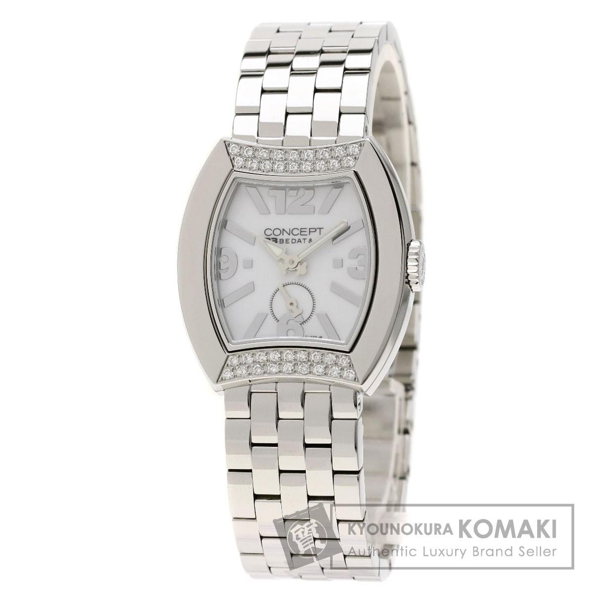 ベダ&カンパニー Ref.CB03 コンセプト ダイヤモンド 腕時計 ステンレススチール/SS レディース 【中古】【BEDAT&Co】