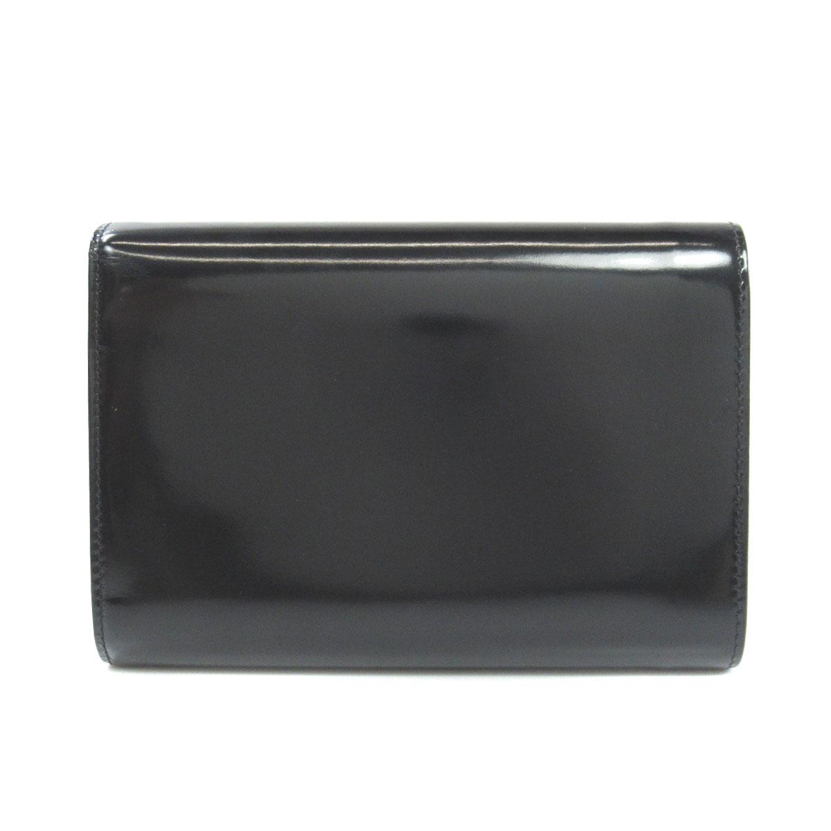 b3281b441e99 ... プラダ ロゴタイプ 二つ折り財布(小銭入れあり) パテントレザー レディース ...