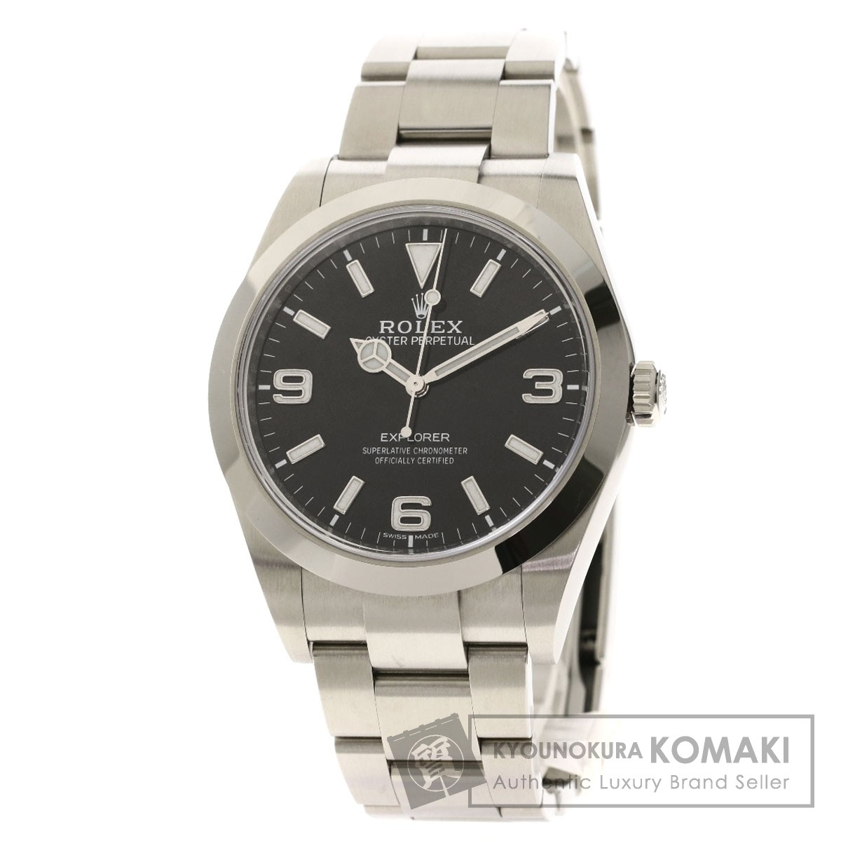 ロレックス 214270 エクスプローラー1 腕時計 ステンレススチール メンズ 【中古】【ROLEX】
