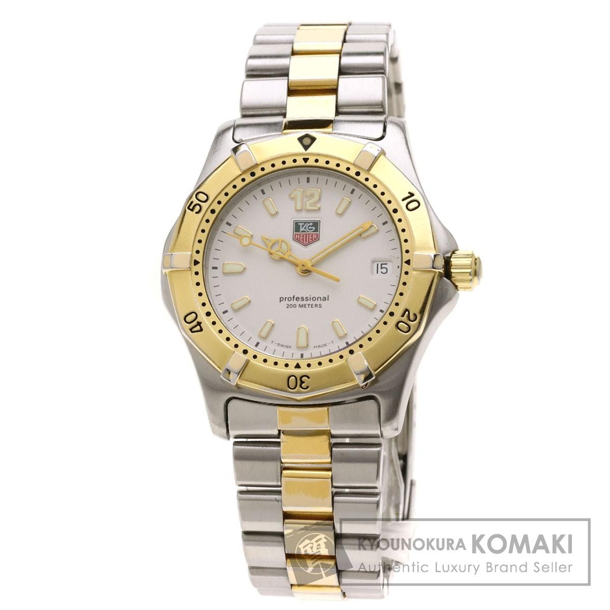 タグホイヤー WK1120 プロフェッショナル 腕時計 ステンレススチール/SSxGP メンズ 【中古】【TAG HEUER】