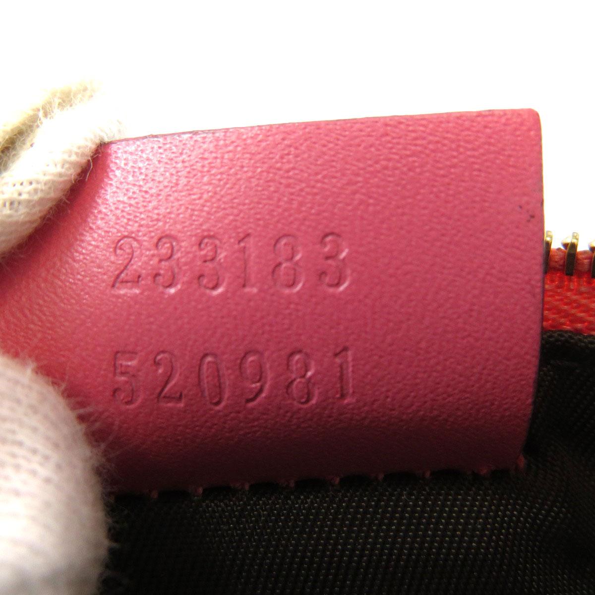 グッチ 233183 シマ GG柄 コインケース レザー レディースGUCCItrdCQBohsx