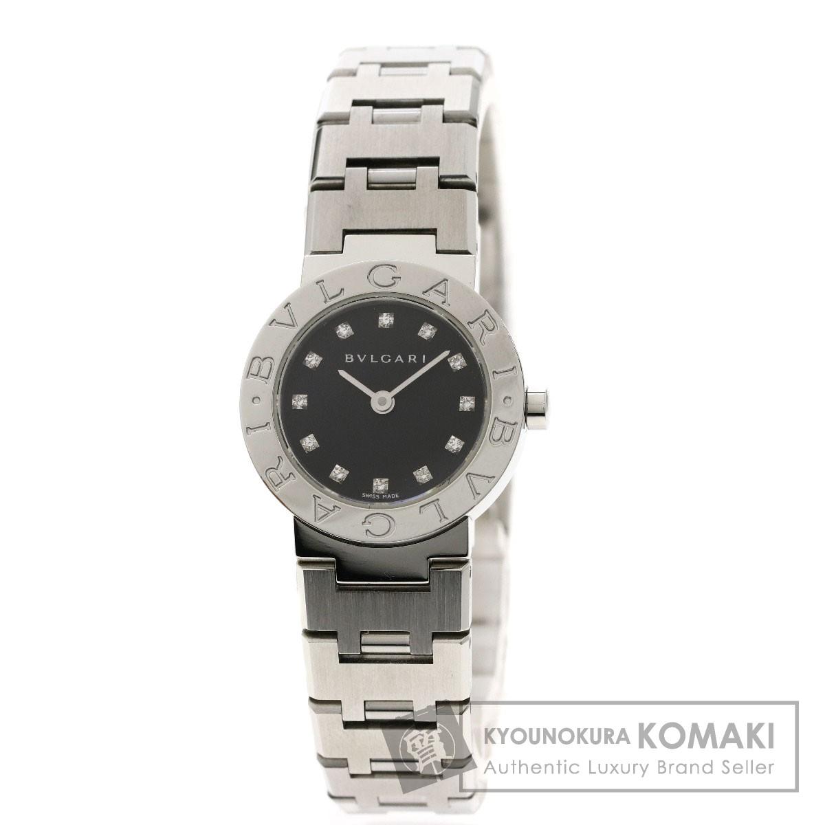ブルガリ BB23SS ブルガリブルガリ 12Pダイヤモンド 腕時計 ステンレススチール/SS レディース 【中古】【BVLGARI】
