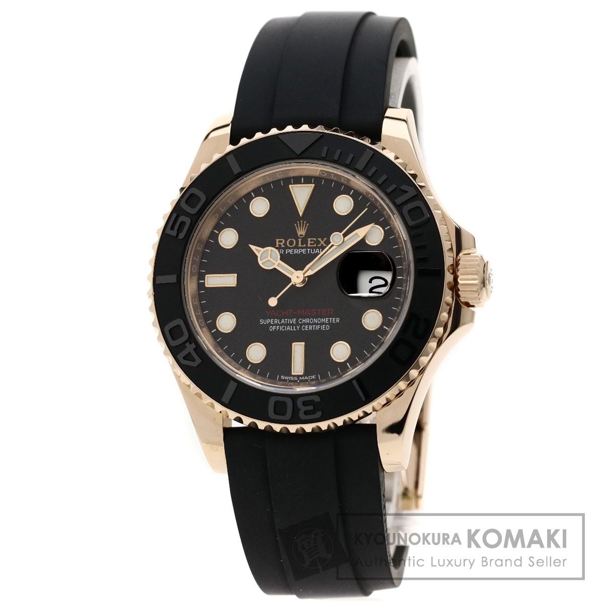 最安 ロレックス 116655 ヨットマスター 腕時計 K18ピンクゴールド/ラバー メンズ 【】【ROLEX】, ブゼンシ bd8ead3f