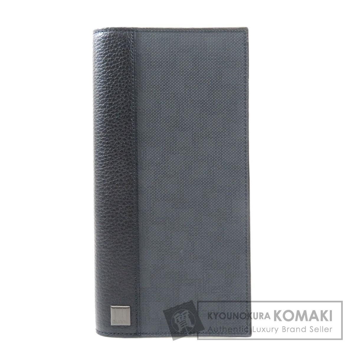 ダンヒル L2LH10Z D-EIGHT 長財布(小銭入れあり) PVC/レザー メンズ 【中古】【Dunhill】