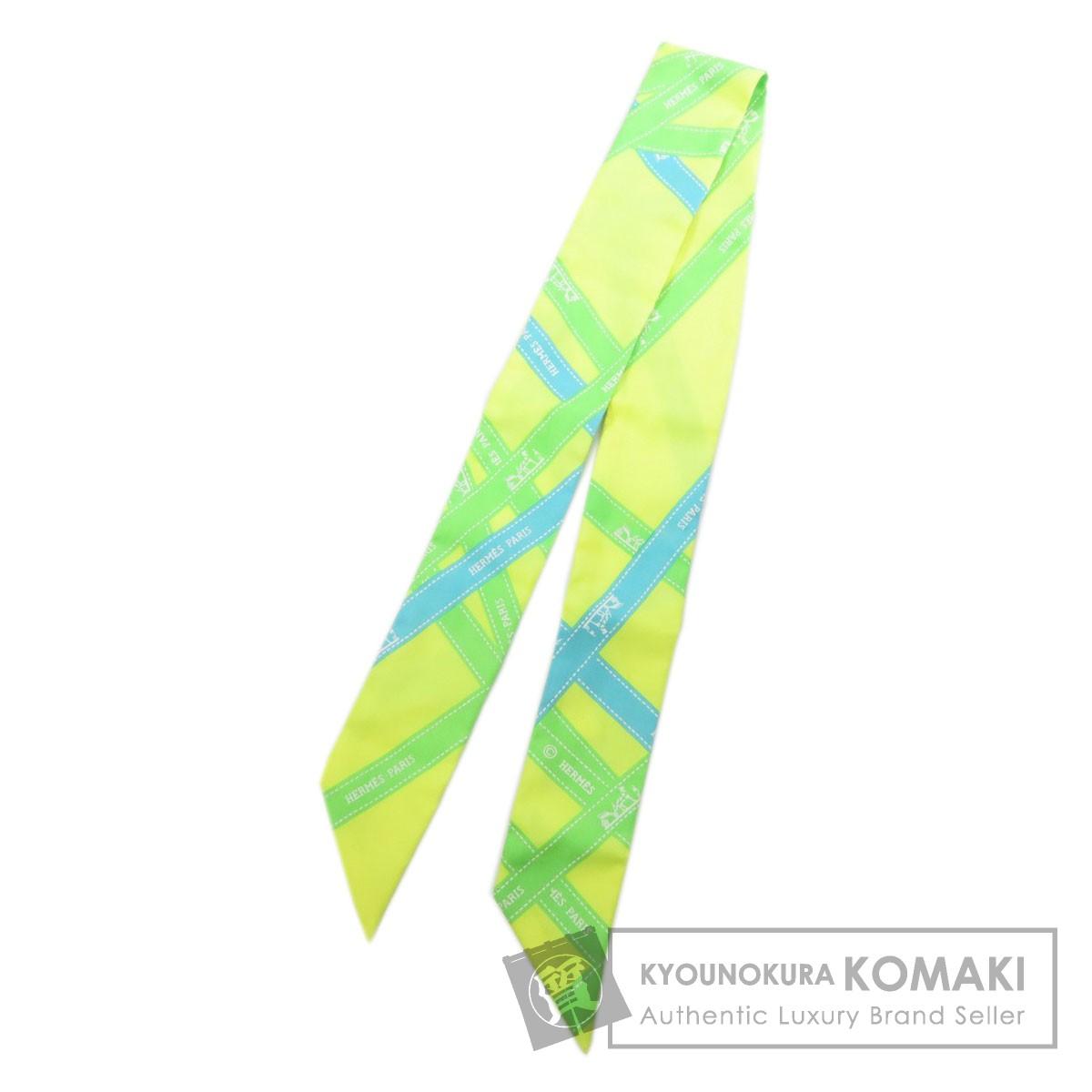 エルメス ツィリー スカーフ シルク レディース 【中古】【HERMES】