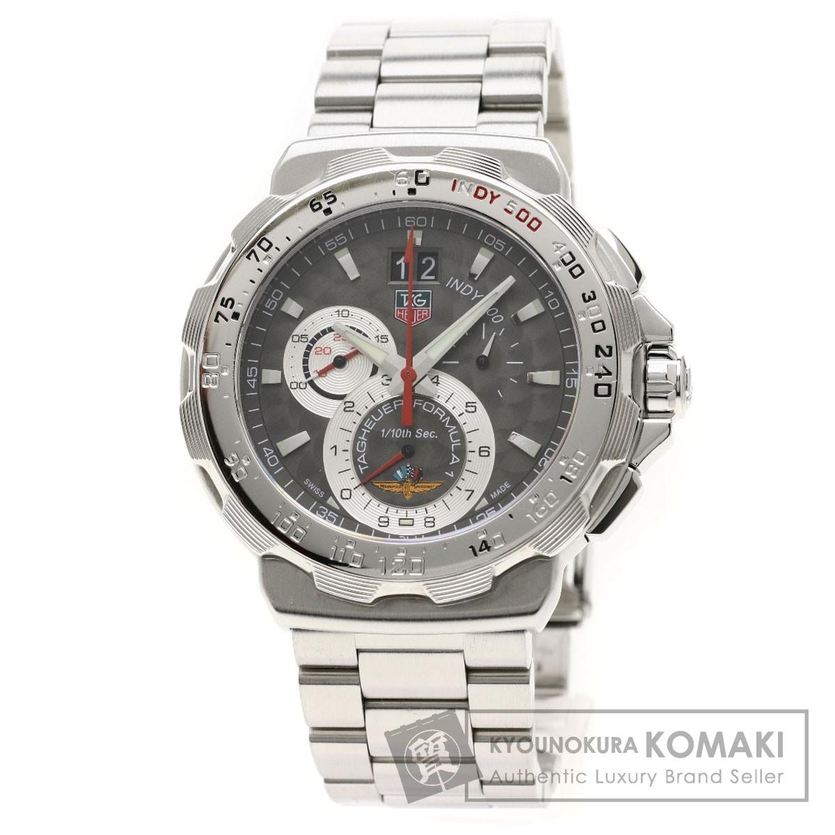 タグホイヤー CAH101A フォーミュラ1 インディ500 腕時計 ステンレススチール メンズ 【中古】【TAG HEUER】