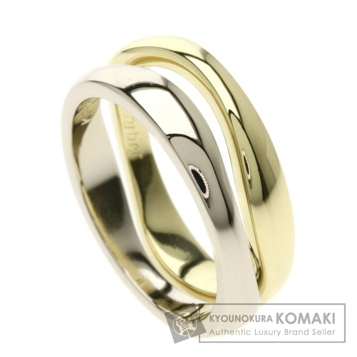 カルティエ ラブミーリング #47 リング・指輪 K18イエローゴールド/K18WG レディース 【中古】【CARTIER】