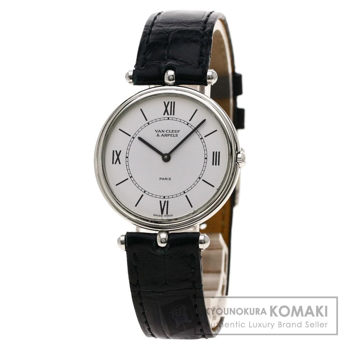 ヴァンクリーフ&アーペル ラ・コレクション 腕時計 ステンレススチール/革 メンズ 【中古】【Van Cleef & Arpels】