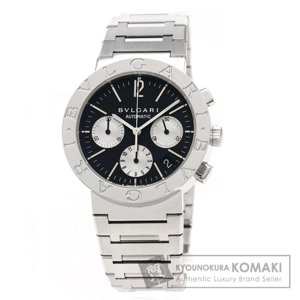 ブルガリ BB38SSDCH ブルガリブルガリ 腕時計 ステンレススチール/SS メンズ 【中古】【BVLGARI】