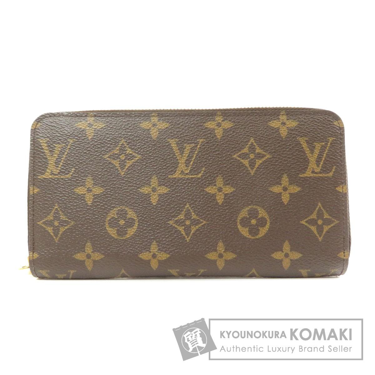 ルイヴィトン M42616 ジッピー・ウォレット 新型 長財布(小銭入れあり) モノグラムキャンバス ユニセックス 【中古】【LOUIS VUITTON】