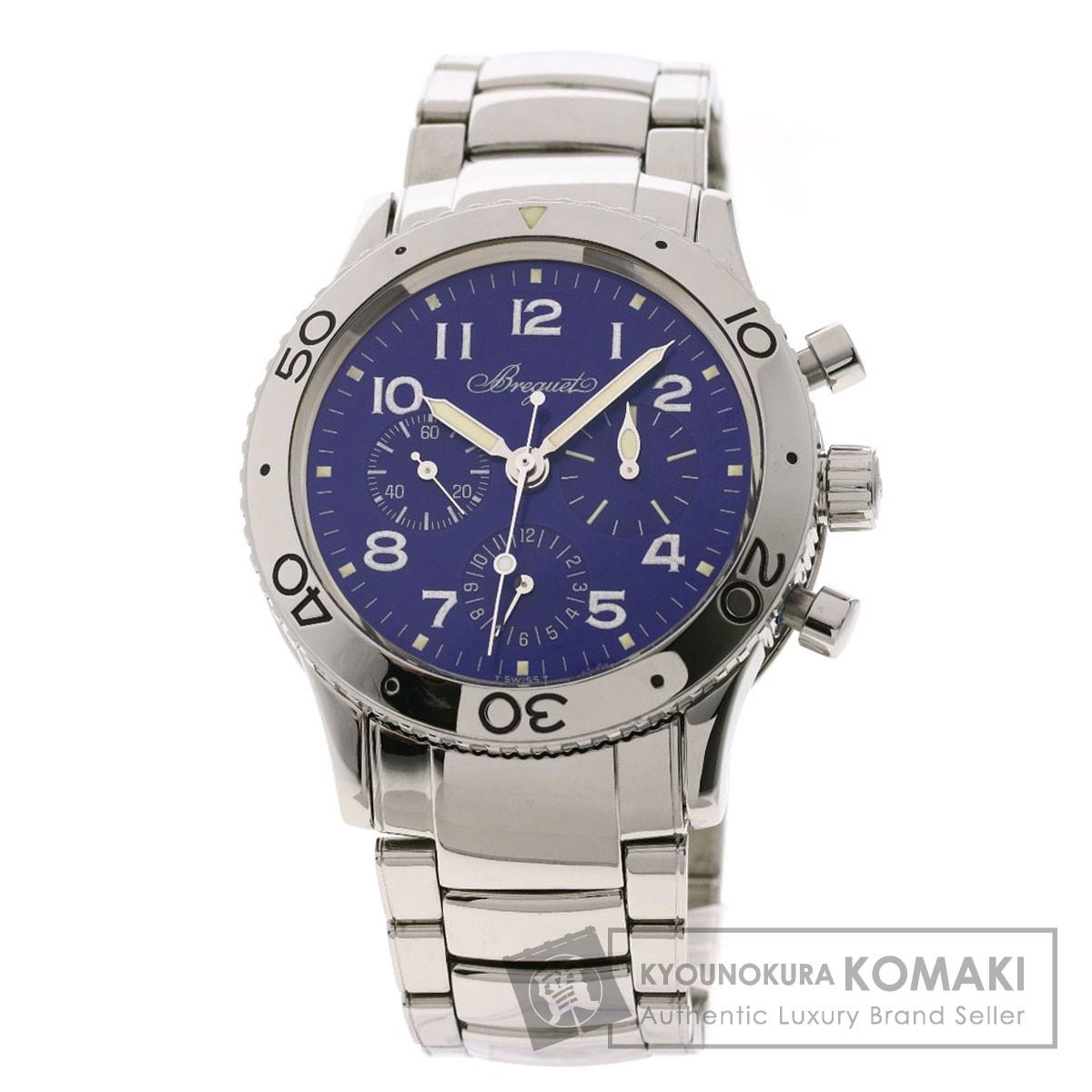 ブレゲ Ref.380 アエロナバル タイプXX 腕時計 ステンレススチール/SS メンズ 【中古】【Breguet】
