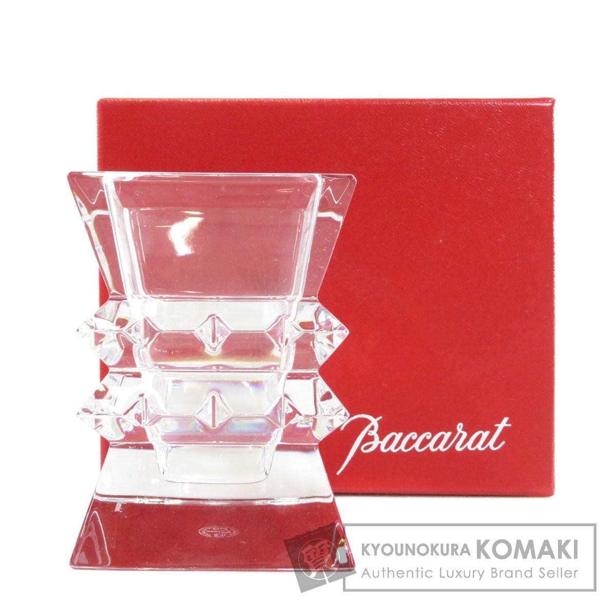 バカラ キャンドルスタンド オブジェ クリスタルガラス レディース 【中古】【Baccarat】
