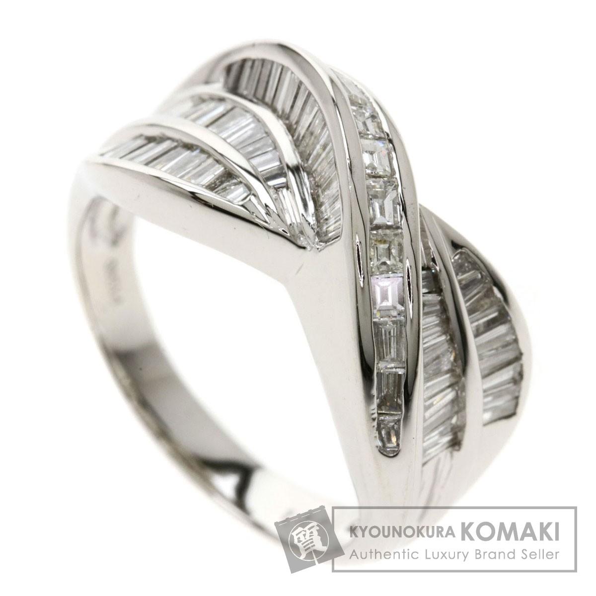 1.3ct ダイヤモンド リング・指輪 プラチナPT900 10.8g レディース 【中古】