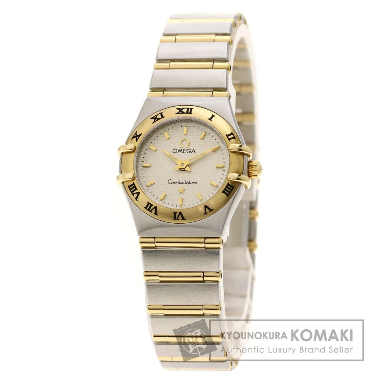 オメガ コンステレーション 腕時計 ステンレススチール/SSxK18YG レディース 【中古】【OMEGA】