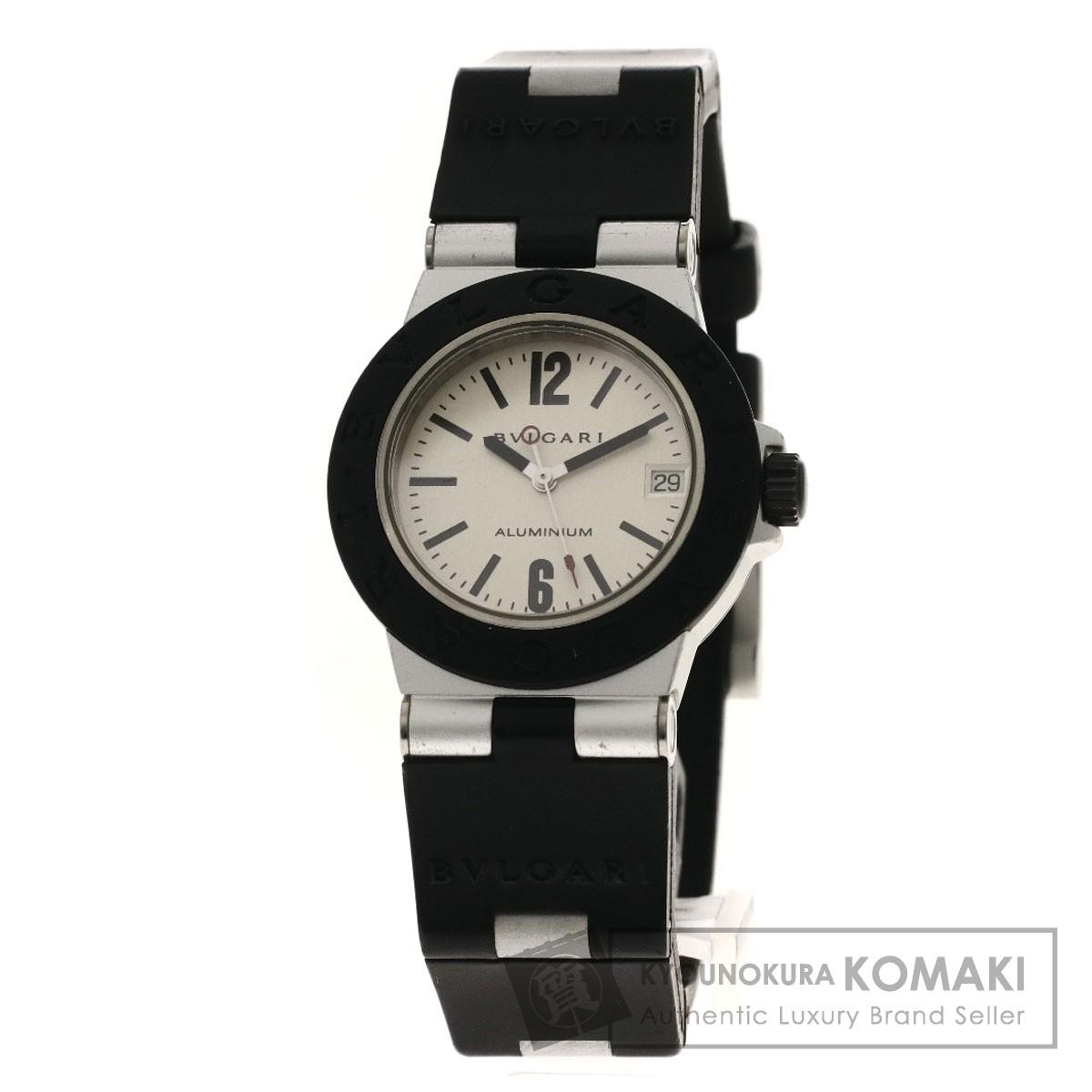 ブルガリ AL32TAVD アルミニウム 腕時計 アルミニウム/ラバー レディース 【中古】【BVLGARI】