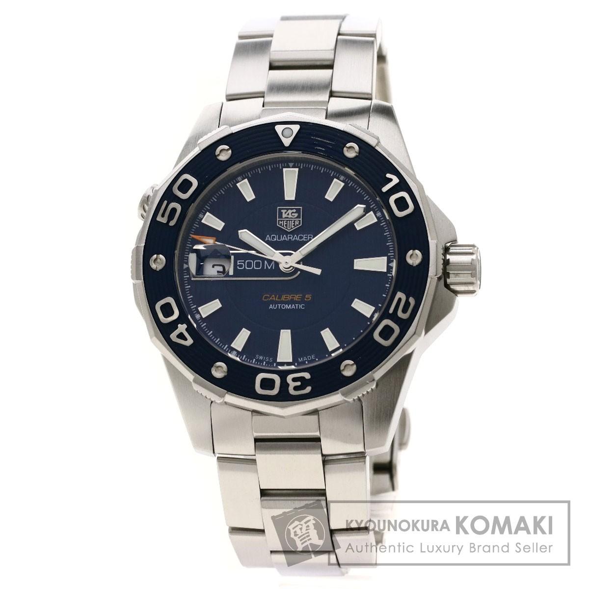 タグホイヤー WAJ2112 アクアレーサー 腕時計 ステンレススチール/SS メンズ 【中古】【TAG HEUER】