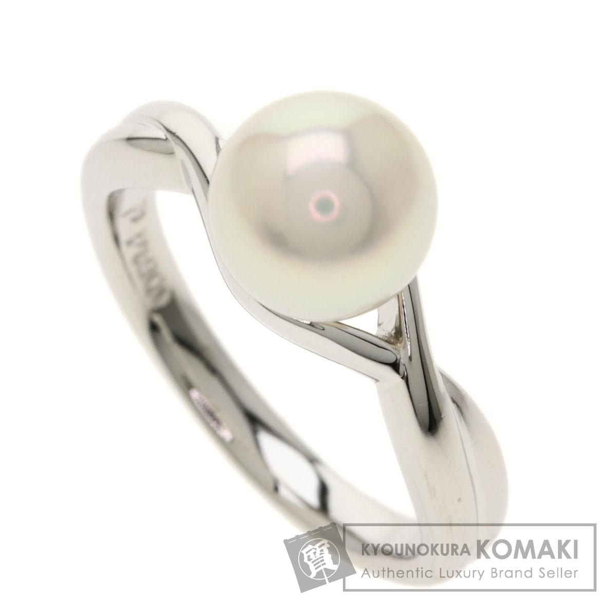 ポーラ パール 真珠 リング・指輪 プラチナPT900 レディース 【中古】【POLA】