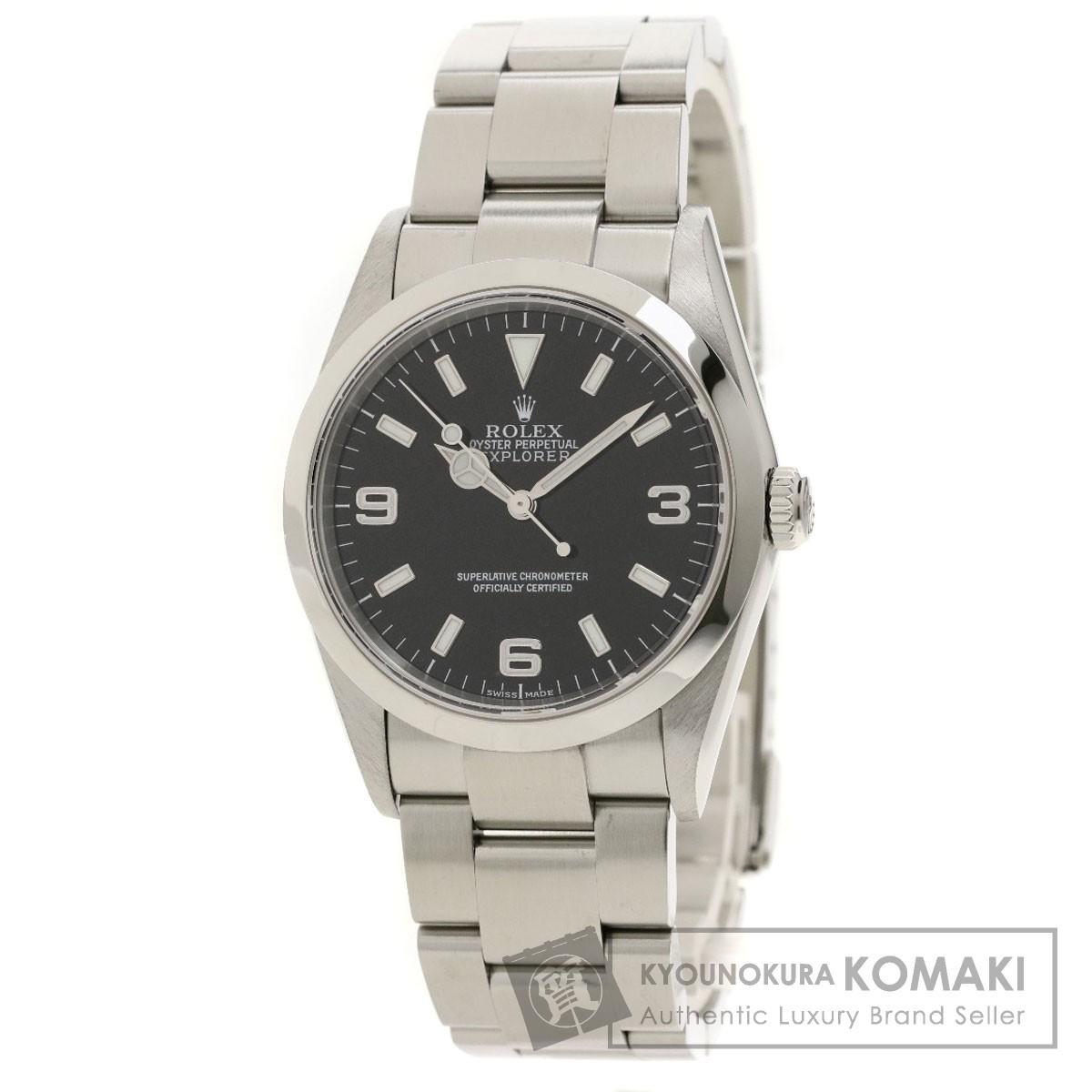 ロレックス 114270 エクスプローラー 腕時計 ステンレススチール/SS メンズ 【中古】【ROLEX】