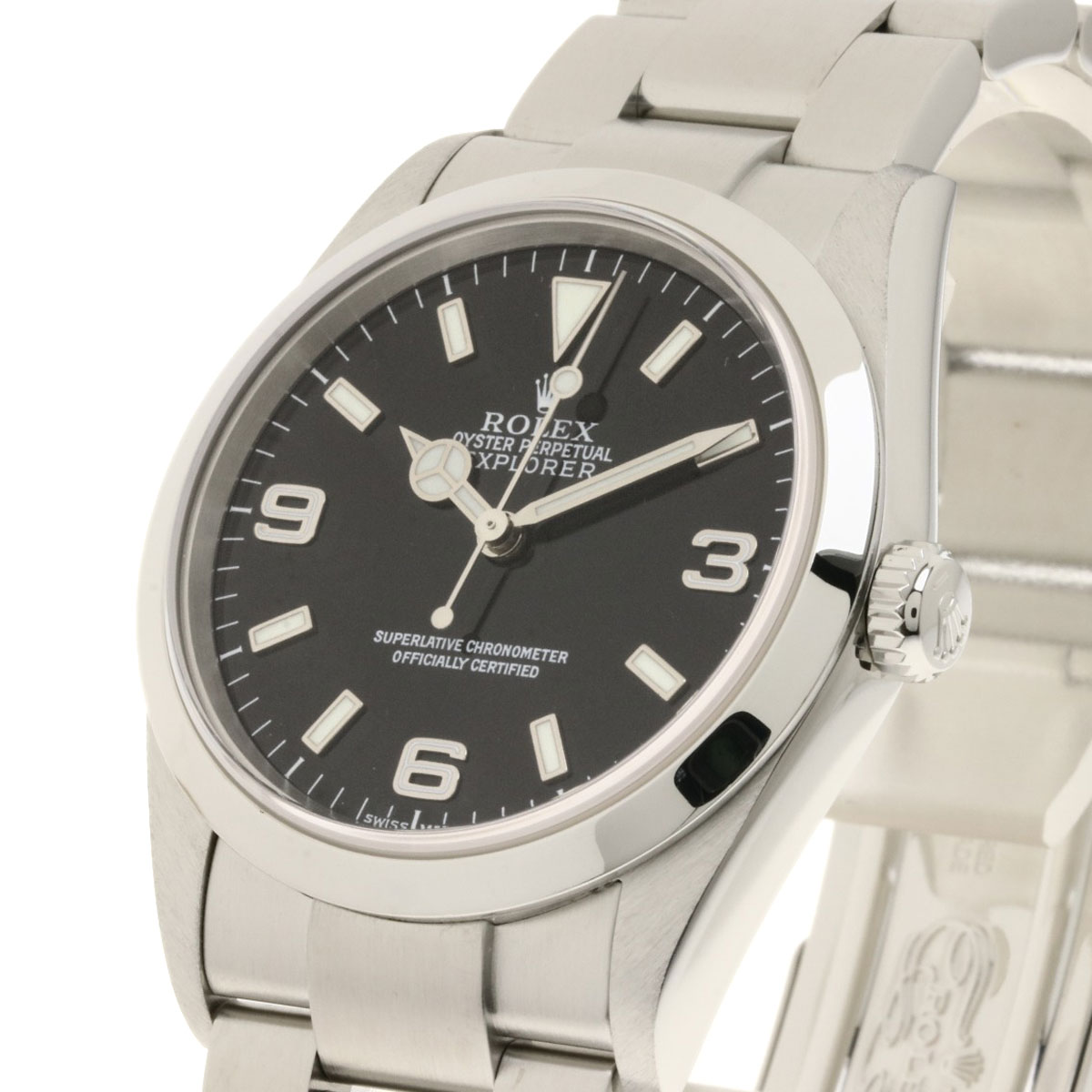 new product aac9d 76705 おしゃれ】 ロレックス 114270 エクスプローラー 腕時計 ...