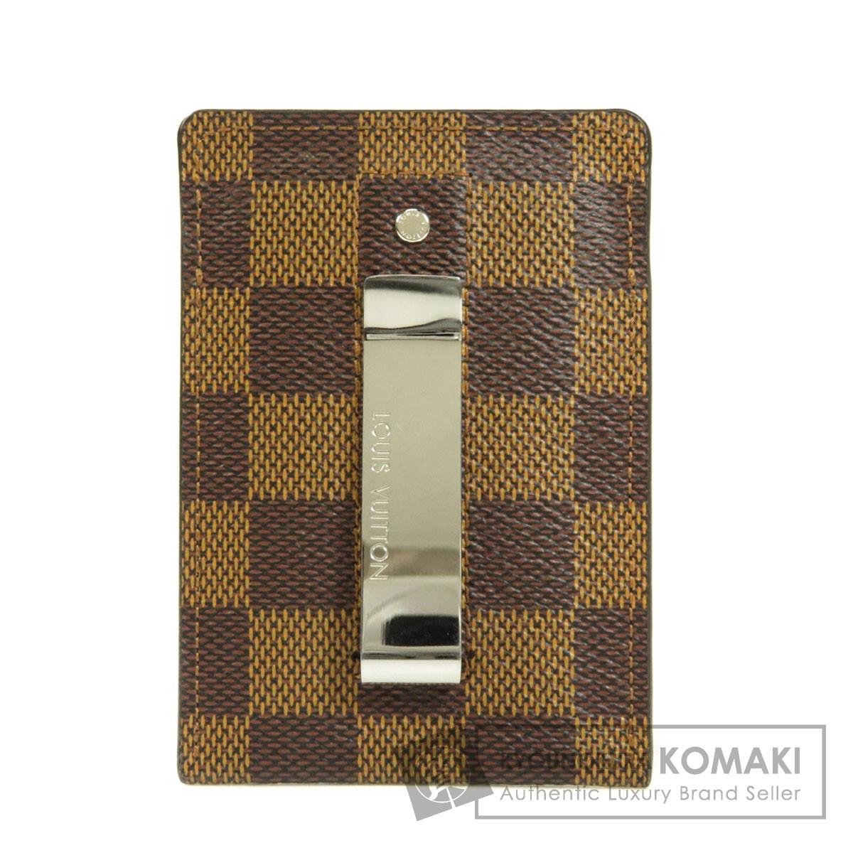 ルイヴィトン N61209 ポルトカルト パンス カードケース ダミエキャンバス メンズ 【中古】【LOUIS VUITTON】