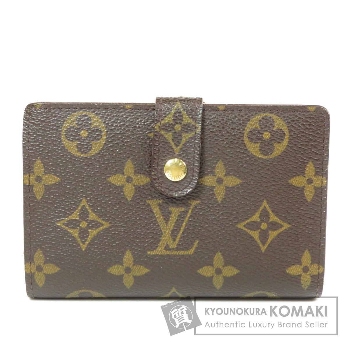 ルイヴィトン M61674 ポルトフォイユ・ヴィエノワ 旧 二つ折り財布(小銭入れあり) モノグラムキャンバス ユニセックス 【中古】【LOUIS VUITTON】