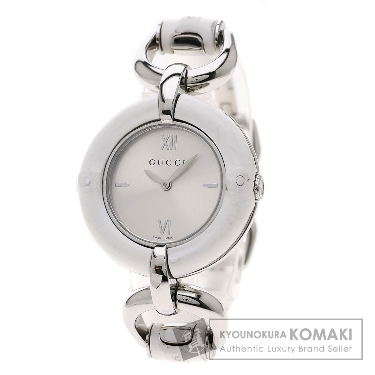 グッチ YA132.4 バンブーウォッチ 腕時計 ステンレススチール/SS レディース 【中古】【GUCCI】