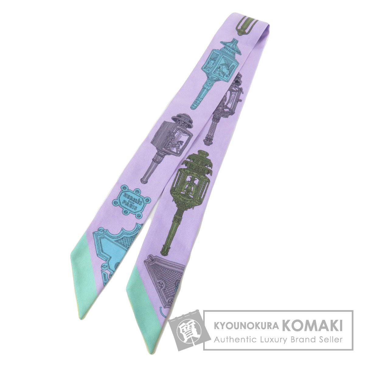 エルメス ツイリー スカーフ シルク レディース 【中古】【HERMES】