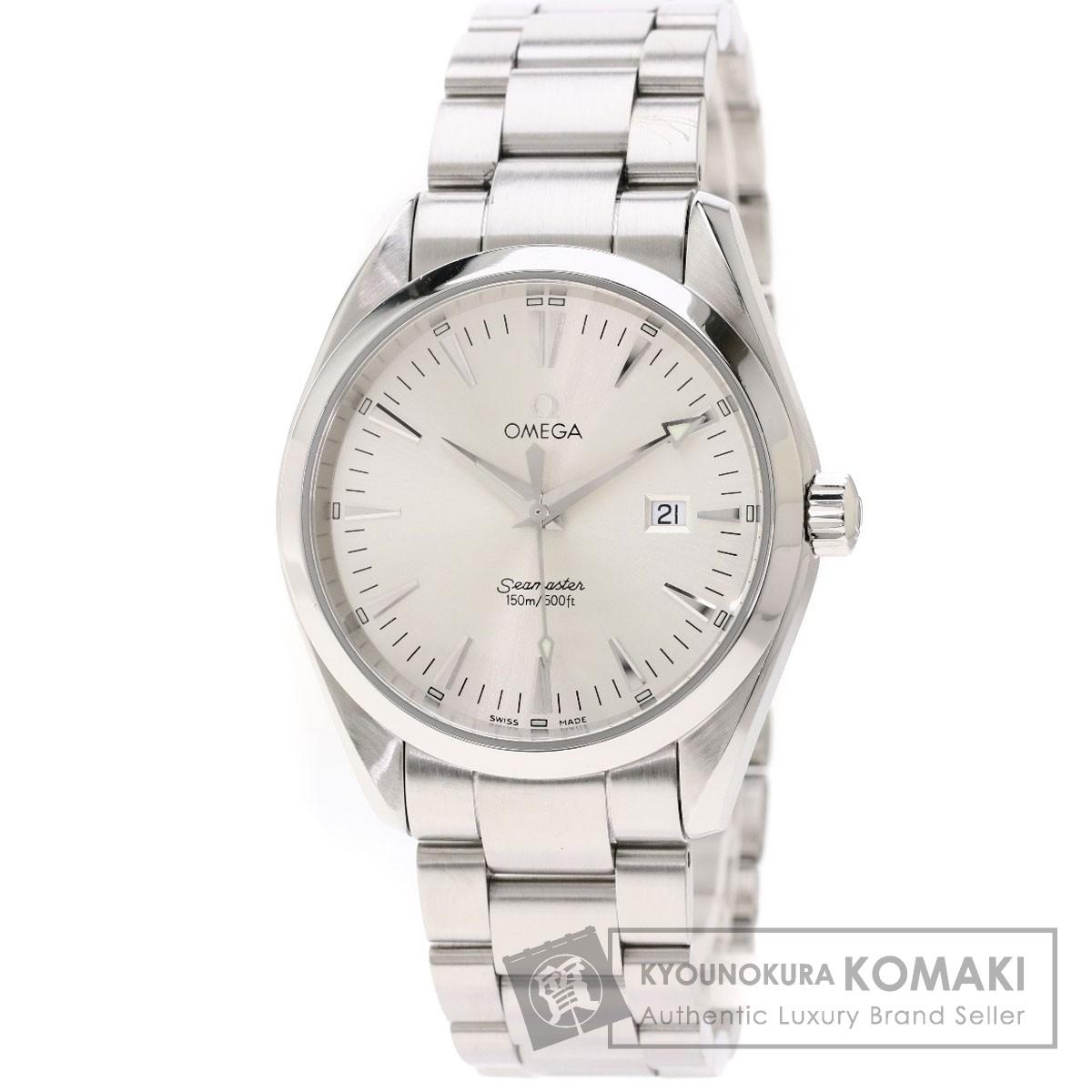 brand new 924b8 6a531 オメガ 2517.30.00 シーマスター アクアテラ 腕時計 ステンレス ...