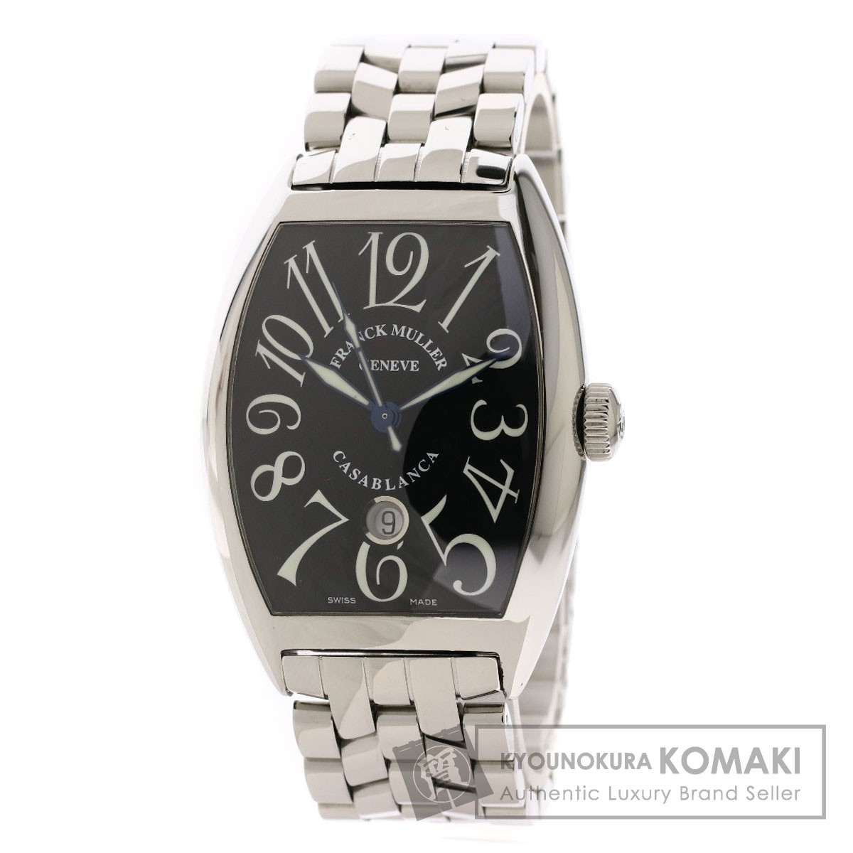 cheap for discount e4a34 cf73a フランクミュラー 8880CDT カサブランカ デイト デイト 腕時計 ...