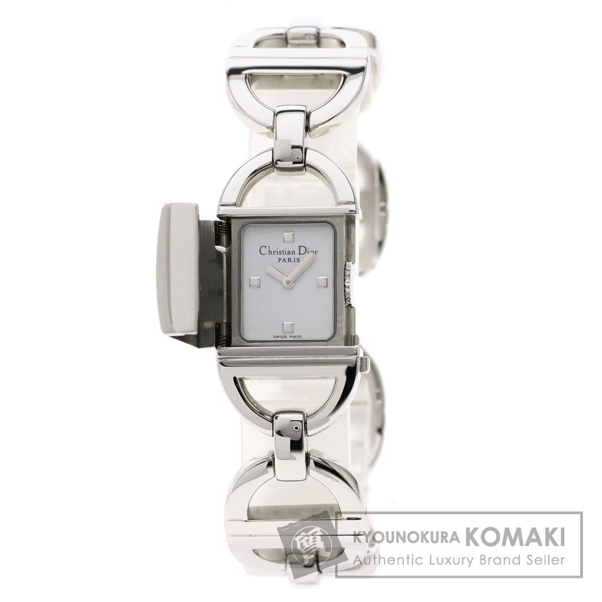 クリスチャンディオール D78-100 パンディオラ 腕時計 ステンレススチール/SS レディース 【中古】【CHRISTIAN DIOR】