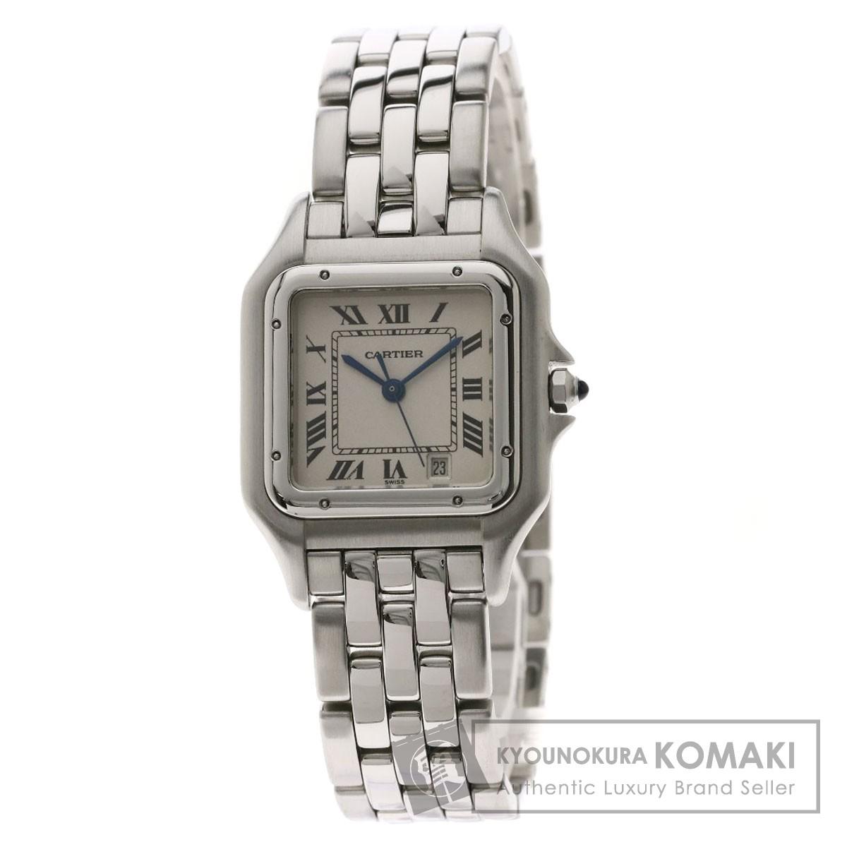 カルティエ パンテールMM 腕時計 ステンレススチール/SS メンズ 【中古】【CARTIER】