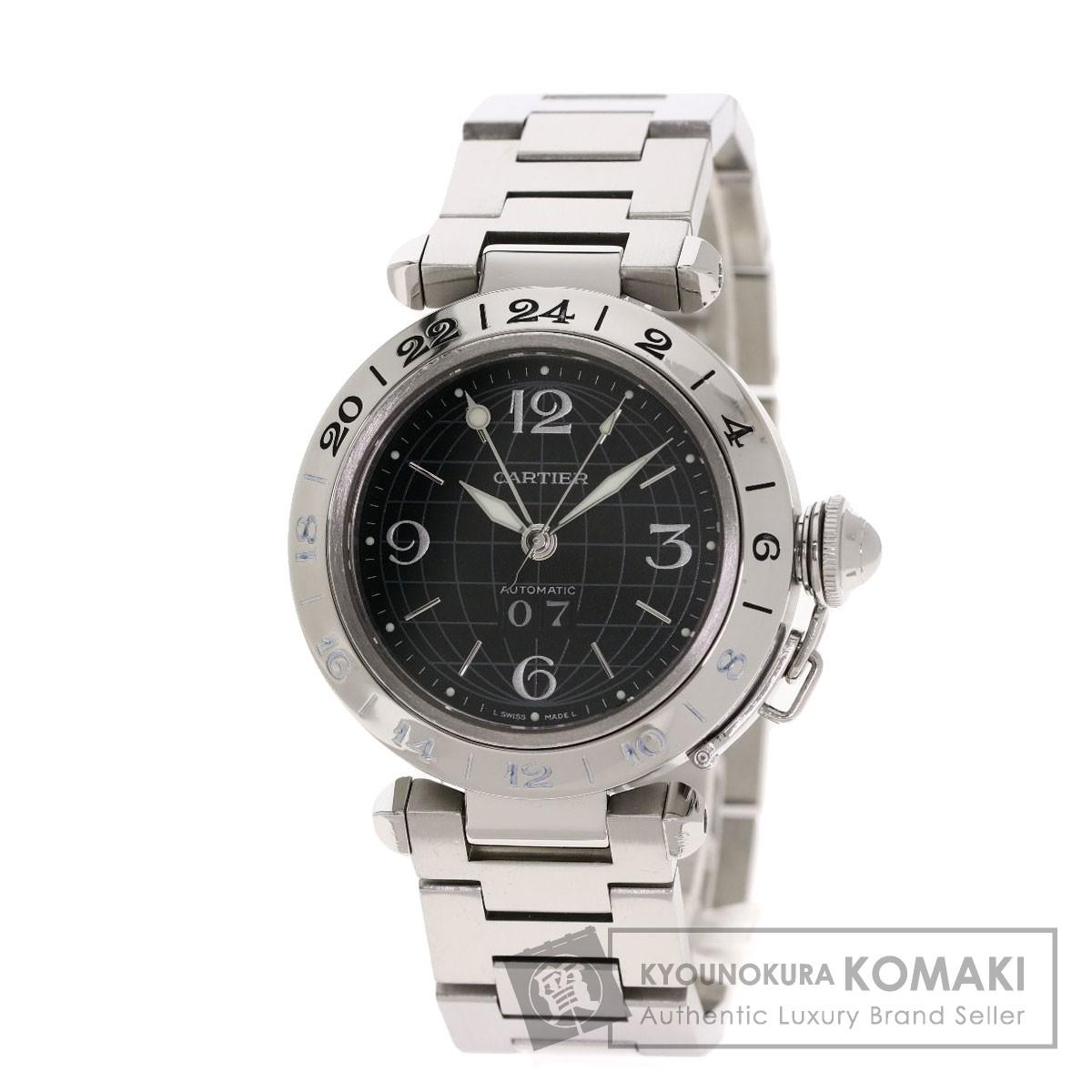 カルティエ W31049M7 パシャC メリディアン 腕時計 OH済 ステンレススチール/SS ボーイズ 【中古】【CARTIER】