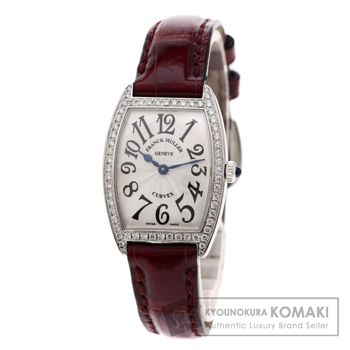 【国内即発送】 フランクミュラー 1752QZDP トノウカーベックス 腕時計 ステンレススチール/革 腕時計 MULLER】 レディース【】【FRANCK【】【FRANCK MULLER】, 五城目町:81c3db9a --- eamgalib.ru