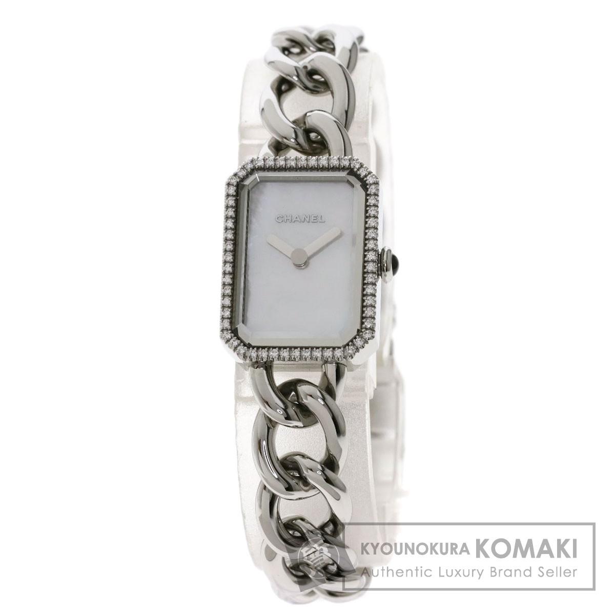 シャネル H3253 プルミエール 腕時計 ステンレススチール/SS/ダイヤモンド レディース 【中古】【CHANEL】