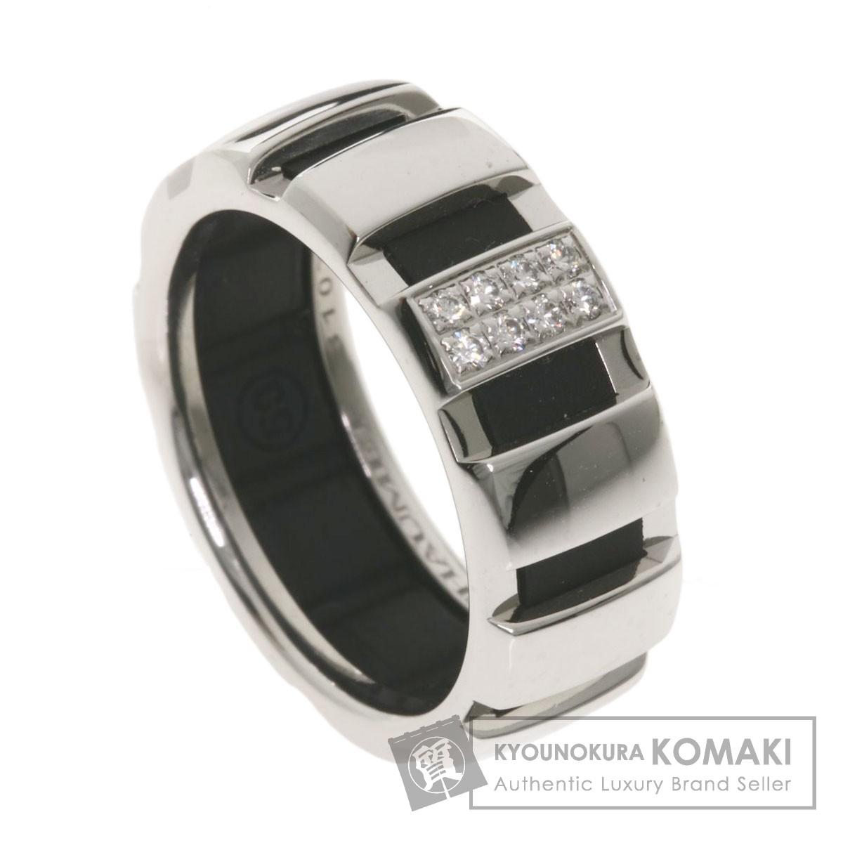 ショーメ クラスワン ダイヤモンド リング・指輪 K18ホワイトゴールド レディース 【中古】【Chaumet】