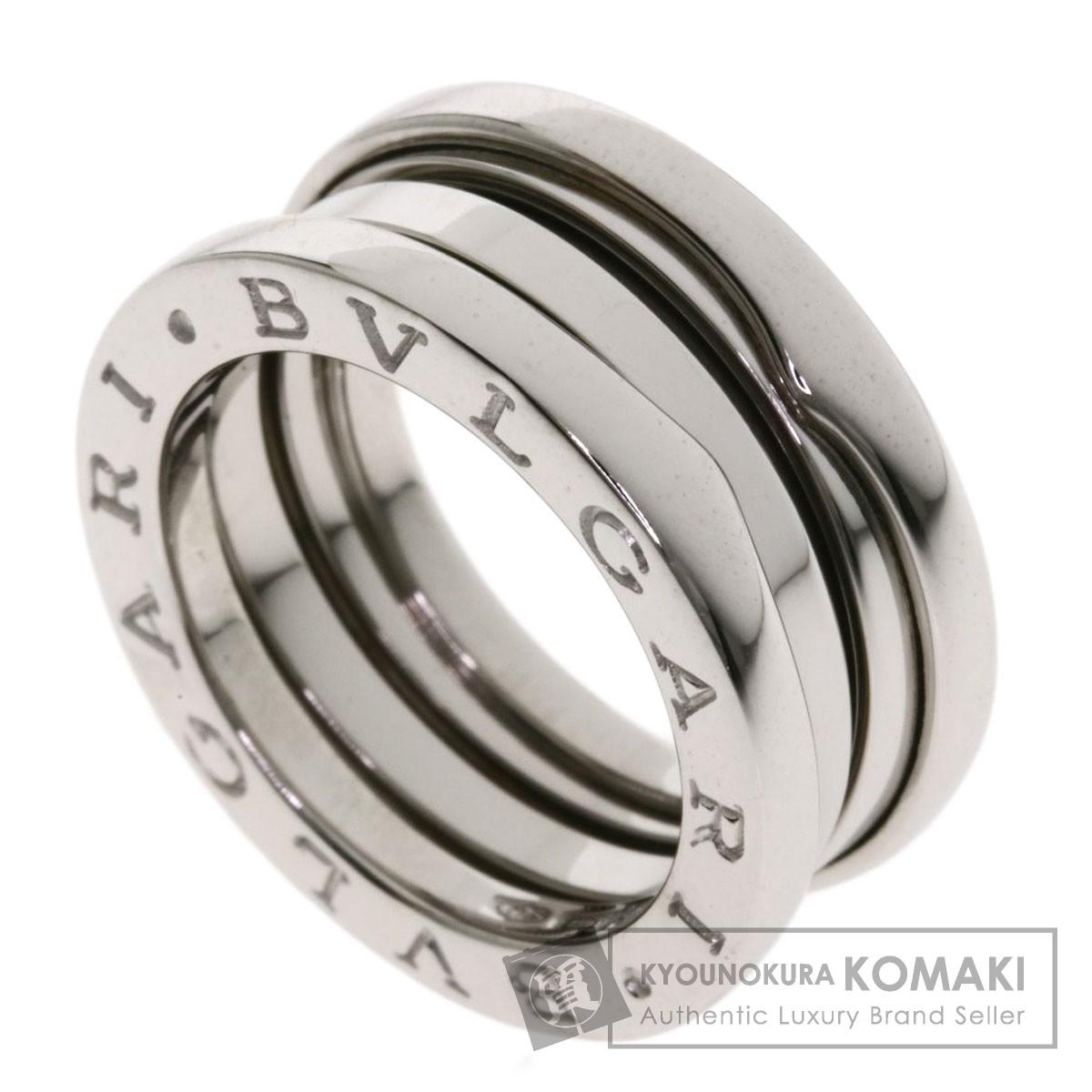ブルガリ B-zero1 S #49 リング・指輪 K18ホワイトゴールド レディース 【中古】【BVLGARI】