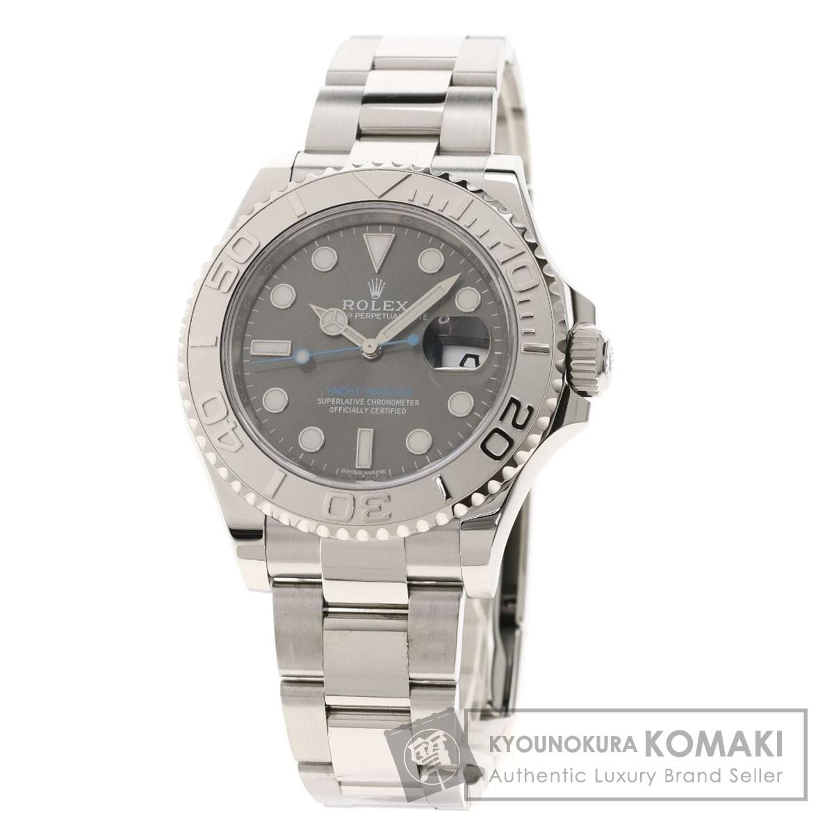 大人気新品 ロレックス 116622 ヨットマスター ダークロレジウム 腕時計 ステンレススチール/SS/PT メンズ 【】【ROLEX】, カゴシマシ c614bed8