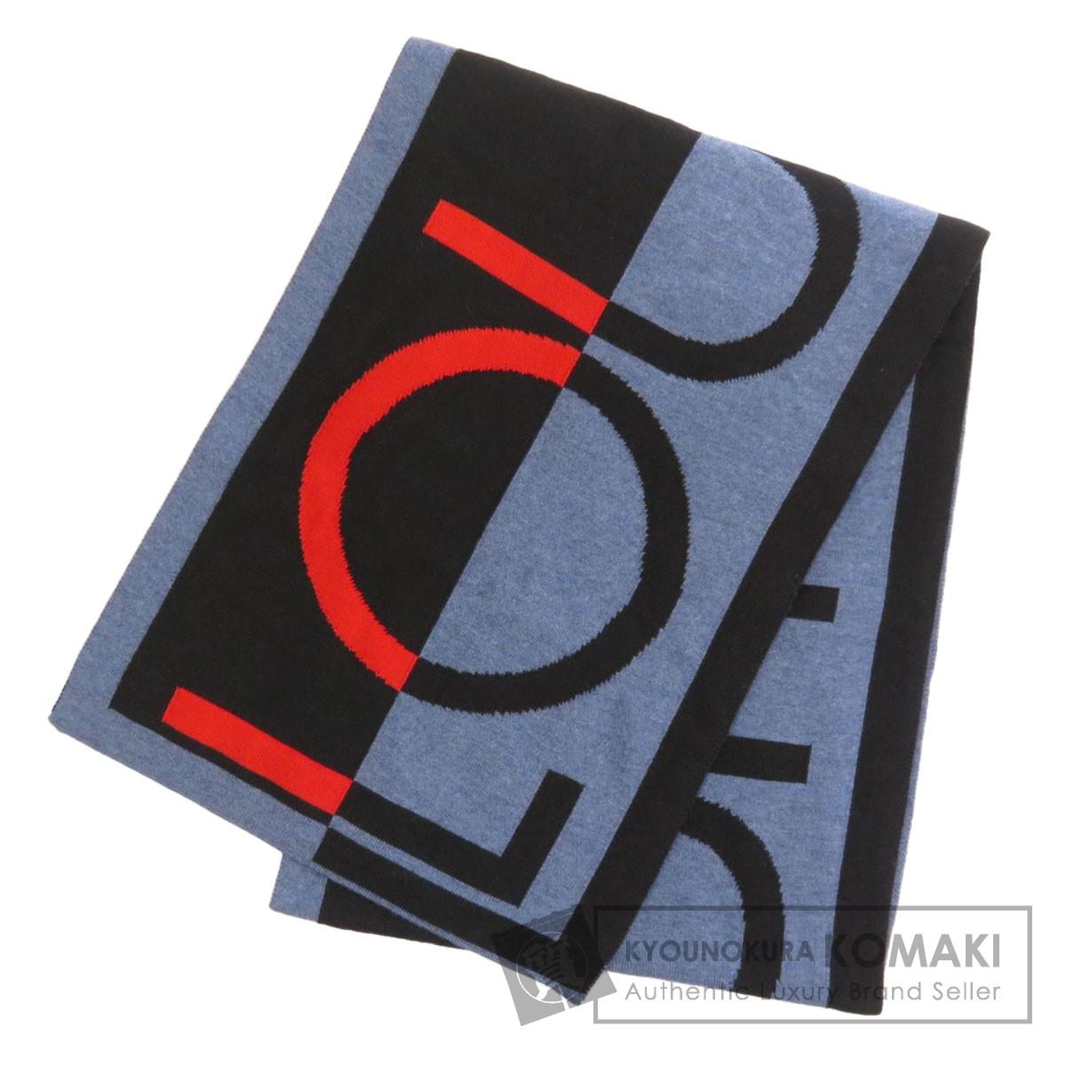 人気ブランドの ルイヴィトン M71244 エシャルプ・LVホライゾン マフラー ウール ユニセックス 【LOUIS VUITTON】, 深江町 9b998dd6